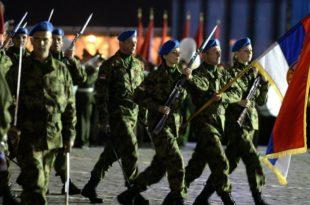 Српски војници на проби победничког марша у Москви (фото)