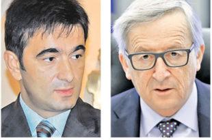 Медојевић натрљао уши лажљивом председнику Европске комисије Јункеру