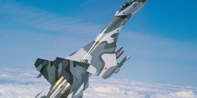 """Руски """"Сухој"""" пресрео амерички шпијунски авион 1"""
