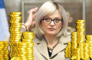 """Није исто 50 и 200 кила злата. Нека каже Јоргованка ,,Цица"""" Табаковић колико је узела? (видео)"""