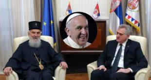 А како би било гробару да ти Срби купе карту у једном правцу за Ватикан па тамо уживај у папском гостопримству до миле воље 5