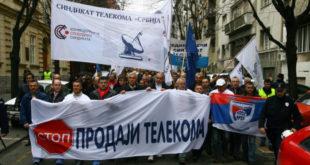 """Самостални синдикат """"Телекома Србија"""": """"Телеком Србија"""" не продавати ни под каквим условима и било чијим притисцима! 9"""