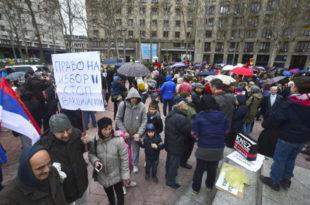 Протест родитеља у Београду: Наша деца су оболела после вакцинације
