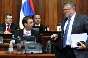 Шарлатан Вујовић признао да ће се о повећању плата и пензија одлучивати у Вашингтону, а не у Београду