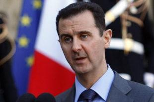 """Башар ал Асад: Ердоган користи неуспех пуча да примени екстремистичку агенду """"Муслиманског братства"""""""