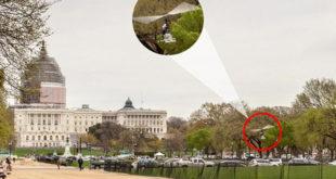 Паника у Вашингтону! Пензионисани поштар од 61 годину извршио хеликоптерски десант у двориште америчког Конгреса (видео) 11