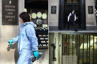 Највећа пљачка у Британији: Лопови однели накит и новац у вредности 200 милиона фунти!