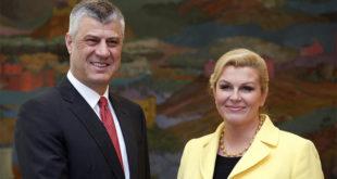 Терориста Tачи са хрватским државним врхом о jачању сарадње 10