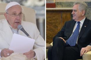 Николић 17. априла у посети Ватикану