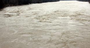 Велика Морава и даље расте: На обалама тешка механизација 5