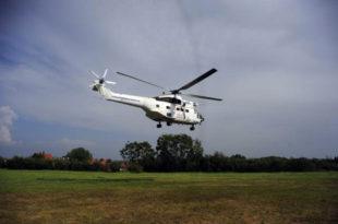 Хеликоптер Еулекса се срушио на приштински аеродром