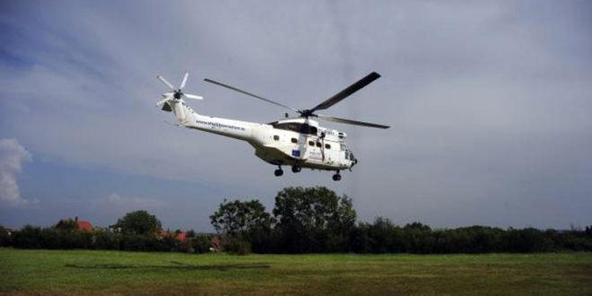 Хеликоптер Еулекса се срушио на приштински аеродром 1