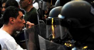О билансу протеста у Скопљу (видео) 1