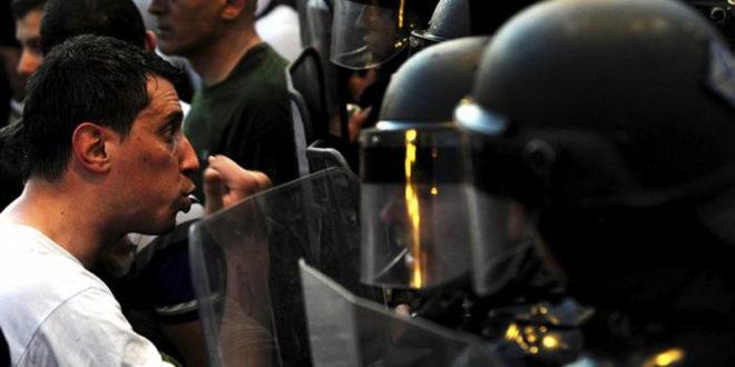 О билансу протеста у Скопљу (видео)