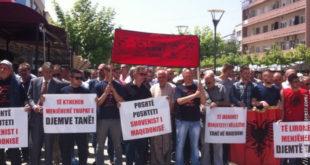 """Приштина: Протест подршке терористима и тероризму: """"У Куманову су се борили хероји"""" 7"""