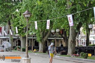 У СЛАВУ ЋИРИЛИЦЕ: Требиње – Дучићева улица окићена азбуком