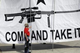 Тексас доноси закон о отвореном ношењу оружја на улицама