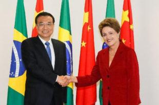 Бразил и Кина потписали низ трговинских и инвестиционих споразума у вредности од 53 милијарде долара