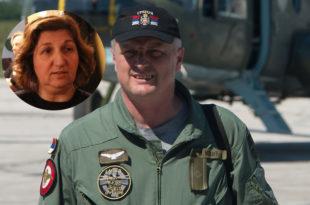 Супруга пилота Мехића одбила орден који му је постхумно додељен
