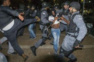 Протести против расизма у Израелу (видео)