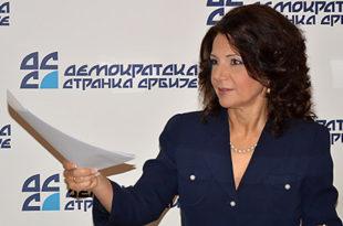 Санда Рашковић Ивић: Потез неколико чланова је покушај слабљења ДСС-а и стављања странке под Вучићеву контролу
