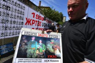 Породице Удружења киднапованих и убијених на КиМ обележиле 17 година од прве отмице на КиМ