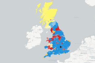 Шкотска се после јучерашњих избора ДЕ ФАКТО политички одцепила од остатка Британије!