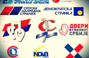 ИСПОД ЦЕНЗУСА: ДС, СРС, ДЈБ, Двери, ДСС, Не давимо Београд, ЛДП, Бели...