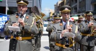 """Војни оркестар """"Ниш"""" 9. маја у Кијеву свира на увце украјинским нацистима 5"""