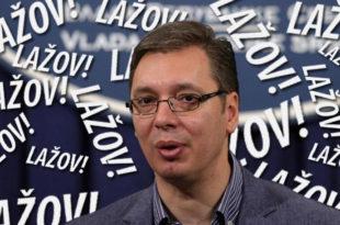 """ЛАЖОВЧИНА: Вучић у писму ММФ-у навео да нема """"повећавања"""" плата и пензија!"""