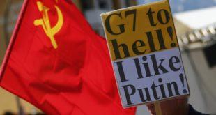 Демонстранти у Немачкој поручили: Г7 иди до ђавола! Волим Путина 7