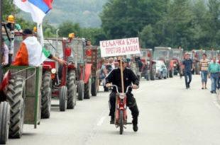 Малинари прете блокадама саобраћајница 4