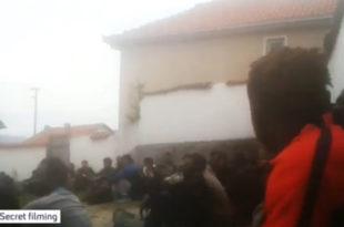Погледајте шта шиптарске банде раде изнемоглим мигрантима у Македонији (видео)
