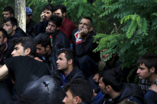 Мађарска, рекордан број приведених миграната
