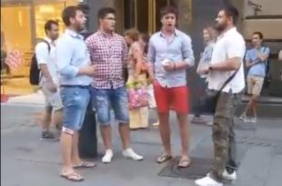 Суза Косова у центру Беча (видео)