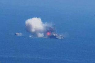 Ракетни напад радикалних исламиста на египатски патролни брод у Медитерану (видео) 11