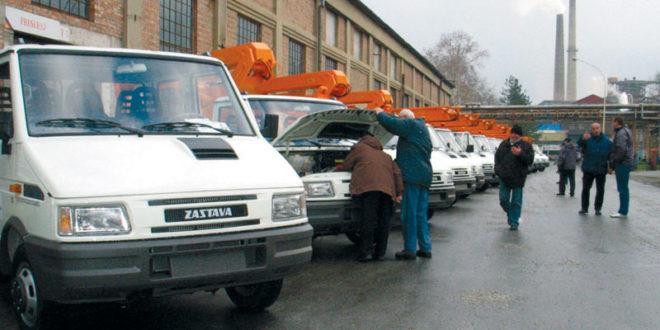 Бивши радници Заставе камиона данас наставили протест 1