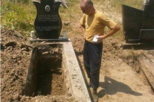 Полицијски јуриш државе Србије на гробове предака Милинка Ковачевића (фото)