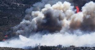 Атина у пламену - пожар захватио насељене делове града 9