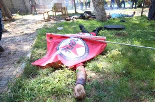 Лажна застава: Суруч - агресија Турске на Сирију и геноцид на Курдима
