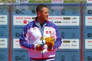 СВАКА ЧАСТ СРБИНЕ: Кајакаш Марко Драгосављевић је првак света!