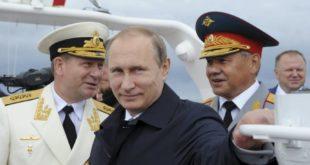 ПАРАДА ПОВОДОМ ДАНА МОРНАРИЦЕ Путин: Наша ратна флота је понос Русије! (видео) 7