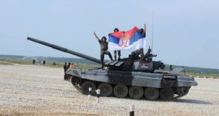 Тенкисти осветлали образ Србији и послали поруку непријатељима