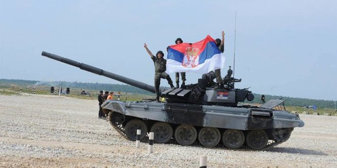 Тенкисти осветлали образ Србији и послали поруку непријатељима 1