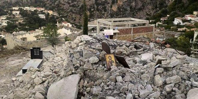 Албанци, као терористи Исламске државе, срушили православни храм до темеља