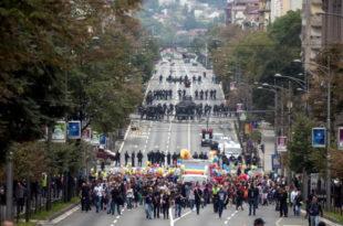 Док радници, пензионери и још два милиона Срба гладују Вучићев режим је на содомитску параду потрошио 1.5 милиона евра