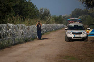 Мађари због бежаније миграната привремено затворили гранични прелаз Хоргош