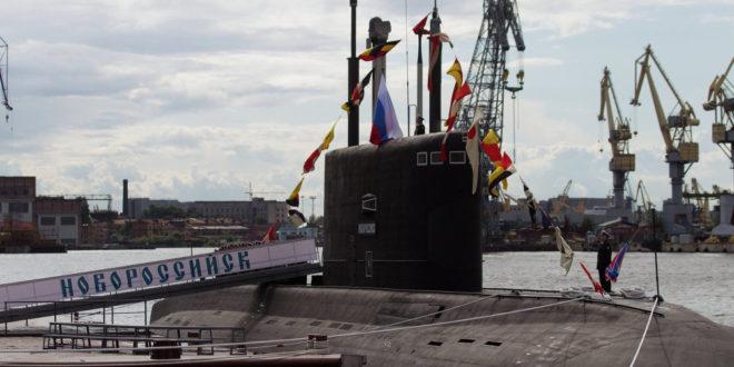 """Шпанци пустили руску подморницу """"Новоросијск"""" у своју луку, Британци бесни због """"провокације"""" 1"""