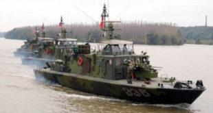 Војни бродови Србије и Мађарске ушли у Хрватску 5