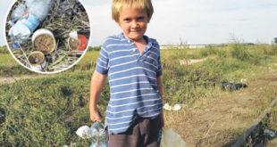 УБОГА СИРОТИЊА: Дечак (8) скупља отпатке које су Сиријци побацали да не умре од глади! 5
